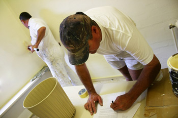 quality workmanship with bentleys decorators - Decorators